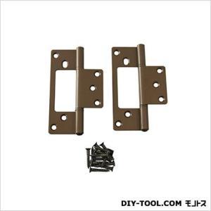 フラッシュ蝶番 セントク色 102mm 17450 1袋(2枚)|diy-tool