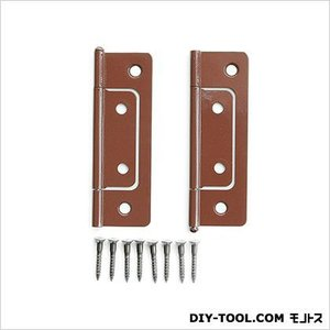 フラッシュ蝶番 ウルミ 76mm P-662 1袋(2枚)|diy-tool