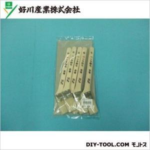 好川産業 ペンキ金巻用刷毛 30mm5本組 816363|diy-tool