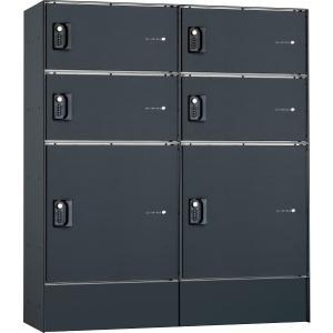 フロリア 宅配ボックス 4S+2M マットブラック W906×H1052×D320mm 324106120 diy-tool