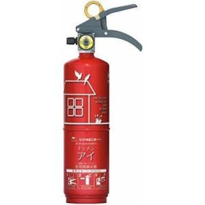 *有効期間終了年2022年/末*モリタ宮田工業  消火器 キッチンアイ ルビーレッド MVF1HAR