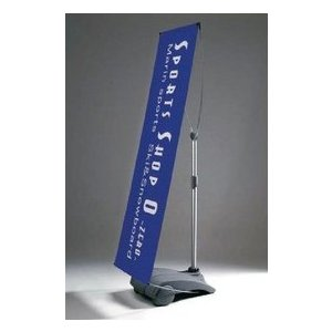 バナースタンド バナーサイン イベントサイン 展示会サイン 店舗広告 基本デザイン無料 861Z+オリジナルバナー込み|diykanbanstore