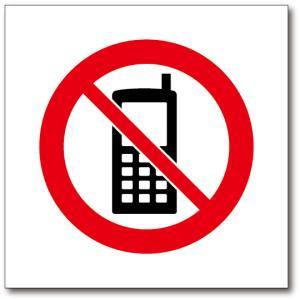 ピクトサイン 絵文字サイン ピクトグラム 携帯電話使用禁止ステッカー|diykanbanstore|02