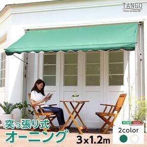 陽射しを防いで室内まで涼しく タンゴ-TANGO- (オーニング3M 日よけ)