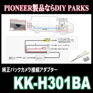パイオニア/KK-H301BA ホンダ車用純正バックカメラ接続アダプター Carrozzeria正規品販売・デイパークス|diyparks
