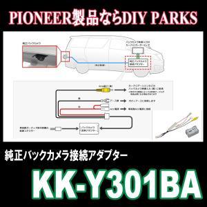 パイオニア/KK-Y301BA トヨタ車用純正バックカメラ接続アダプター Carrozzeria正規品販売・デイパークス|diyparks