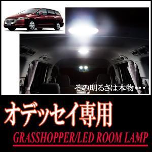LEDルームランプ オデッセイ(RB3/4)専用セット 驚きの明るさ/1年間保証/GRASSHOPPER|diyparks