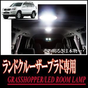 LEDルームランプ トヨタ・ランドクルーザープラド(120系)専用セット 驚きの明るさ/1年間保証/GRASSHOPPER|diyparks