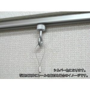 メール便可 山伸 後付スライドフック 天井付レ...の詳細画像4