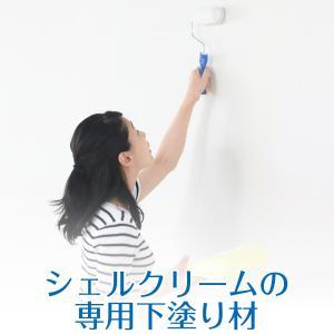 シェルクリーム用 万能シーラー 1kg カビ対策 調湿 湿気 内装用 塗料|diystyle