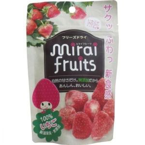 ※未来果実 ミライフルーツ いちご 10g入の商品画像|ナビ