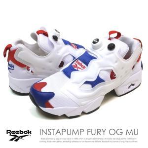 リーボック スニーカー メンズ インスタポンプ フューリー OG MU REEBOK INSTAPUMP FURY OG MU (EU9113) 白 ホワイト|dj-dreams