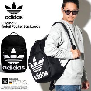 adidas アディダス トレフォイル リュックサック バッグ メンズ 鞄 CL5498 USモデル 2019秋冬 新作|dj-dreams