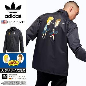 adidas x BEAVIS AND BUTT-HEAD アディダス コーチジャケット メンズ DU3941 USモデル|dj-dreams