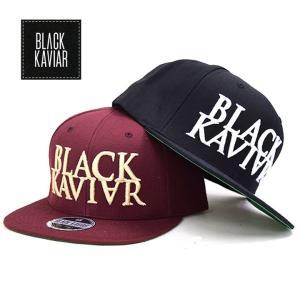 ブラックキャビア BLACKKAVIAR スナップバックキャップ B系 ストリート系 ファッション