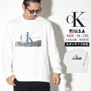都会的で洗練されたデザインで人気のニューヨーク発Calvin KleinよりロングスリーブTシャツが...