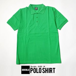 DOUBLE ポロシャツ B系 ファッション ストリート系 大きいサイズ
