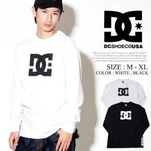 DC Tシャツ メンズ 春 長袖 ロンT DC SHOE ロ...