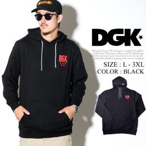 DGK ディージーケー プルオーバーパーカー FADEAWAY HOODY DPO-281 ストリート系 B系 メンズ スケーター ファッション