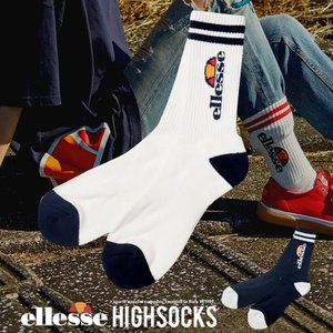 ellesse エレッセ ソックス メンズ 靴下 EAE0726 海外モデル|dj-dreams