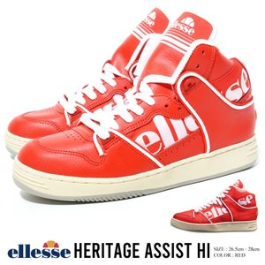 ellesse エレッセ スニーカー メンズ 靴 ハイカット EFH9320 海外モデル|dj-dreams