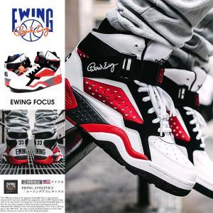 EWING ATHLETICS ユーイング バッシュ EWING FOCUS スニーカー メンズ おしゃれ ブランド バスケットシューズ バスケットボール ハイカット|dj-dreams