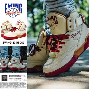 EWING ATHLETICS ユーイング バッシュ EWING 33 HI スニーカー メンズ おしゃれ ブランド バスケットシューズ バスケットボール ハイカット|dj-dreams