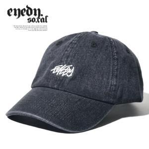 EYEDY アイディー カーブキャップ 6パネル ローキャップ LOW CAP デニム アメカジ カジュアル ストリート B系ファッション|dj-dreams