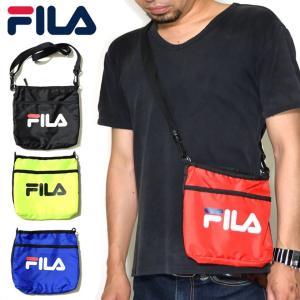 FILA フィラ サコッシュ ショルダーバッグ カジュアル ブランド 斜め掛け ポーチ 小物入れ おしゃれ 鞄 FM2098|dj-dreams
