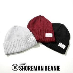 Hurley ハーレー ビーニー 浅め メンズ ニット帽 メンズ ブランド おしゃれ 冬 コーデ 帽子 AQ3807|dj-dreams