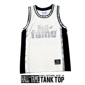HALL OF FAME ホールオブフェイム タンクトップ バスケットジャージ B系 ストリート系|dj-dreams