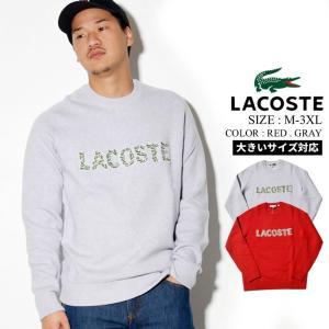 LACOSTE セーター メンズ 冬 おしゃれ スポーツ コーデ AH8547-51 大きいサイズ|dj-dreams