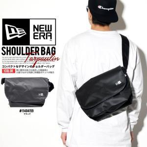 ニューエラ ショルダーバッグ NEWERA Shoulder Bag ターポリン ブラック 11404159 2017 春夏 新作