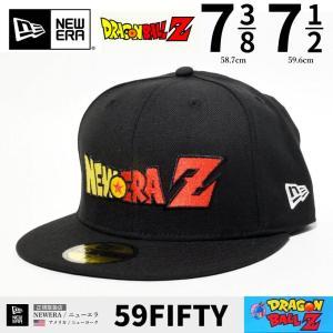 ドラゴンボールZ ニューエラ ベースボールキャップ メンズ 帽子 NEWERA 59FIFTY 2019秋冬 新作|dj-dreams