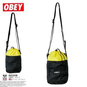 オベイ OBEY ミニショルダーバッグ メンズ サコッシュ 100010129 USモデル|dj-dreams