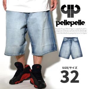 PELLEPELLE ペレペレ ハーフパンツ ジーンズ メンズ デニムパンツ PMEMH3B1601 半ズボン|dj-dreams