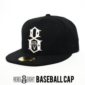 REBEL8 レベルエイト ベースボールキャップ 帽子 RE14-76255 B系 ストリート系 ファッション|dj-dreams