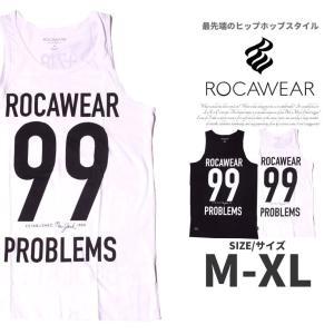 ROCAWEAR ロカウェア タンクトップ メンズ ノースリーブ R1503T003 大きいサイズ|dj-dreams