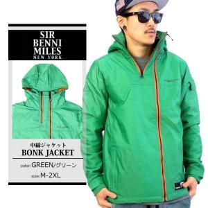 中綿ジャケット メンズ SIR BENNI MILES カジュアル 大きいサイズ スポーツ ブルゾン アウター ダウンコート 中綿コート|dj-dreams