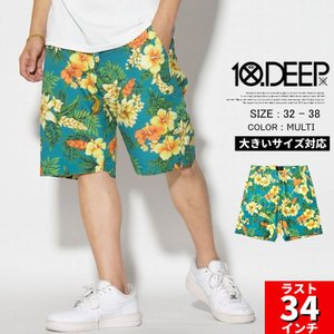 10DEEP ハーフパンツ メンズ 春 ブランド ショートパ...