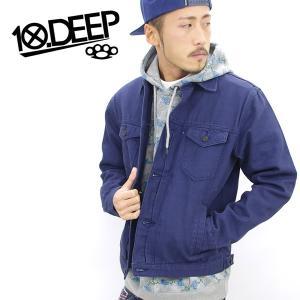 ジャケット メンズ テンディープ 10DEEP ジャケット 34TD2201 B系 ストリート系