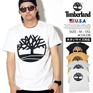 Timberland ティンバーランド Tシャツ メンズ 半袖 ロゴ TB0A1N8Y 日本未発売モデル|dj-dreams