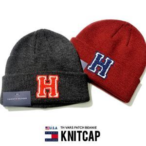 TOMMY HILFIGER トミーヒルフィガー ニットキャップ メンズ ニット帽 ビーニー 1CT0205 海外モデル 2019秋冬 新作|dj-dreams