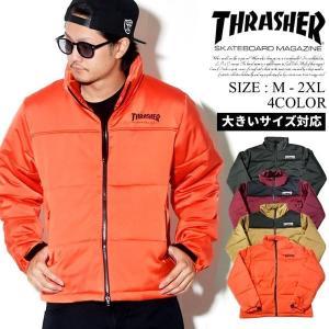 スラッシャー 中綿ジャケット メンズ TH5151 THRASHER 大きいサイズ|dj-dreams