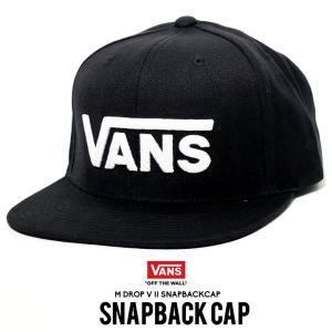 VANS バンズ スナップバックキャップ メンズ 帽子 ロゴ刺繍 USモデル 日本未発売|dj-dreams