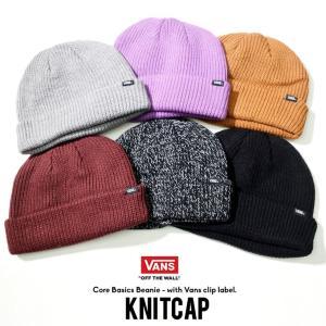 VANS バンズ ニットキャップ メンズ ニット帽子 ビーニー VN000K9Y|dj-dreams