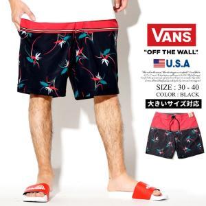 VANS バンズ 水着 メンズ サーフパンツ VN0A3W49TD0 大きいサイズ USモデル 日本未発売 dj-dreams