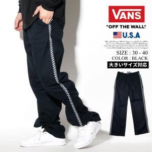 VANS バンズ チノパン メンズ VN0A3W9Y95Y 大きいサイズ USモデル 日本未発売|dj-dreams