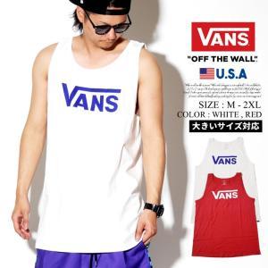 VANS バンズ タンクトップ メンズ おしゃれ サーフ ブランド スポーツ トレーニング 大きいサイズ USモデル|dj-dreams