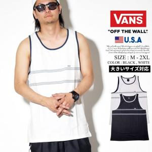VANS バンズ タンクトップ メンズ ノースリーブ Tシャツ VN0A3W2H USモデル 日本未発売|dj-dreams